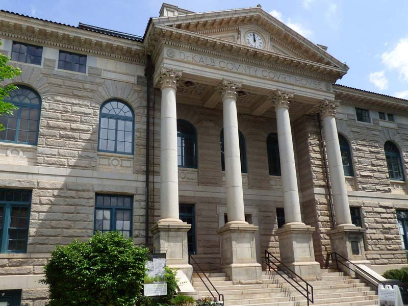 DeKalb History Center: DeKalb County Courthouse