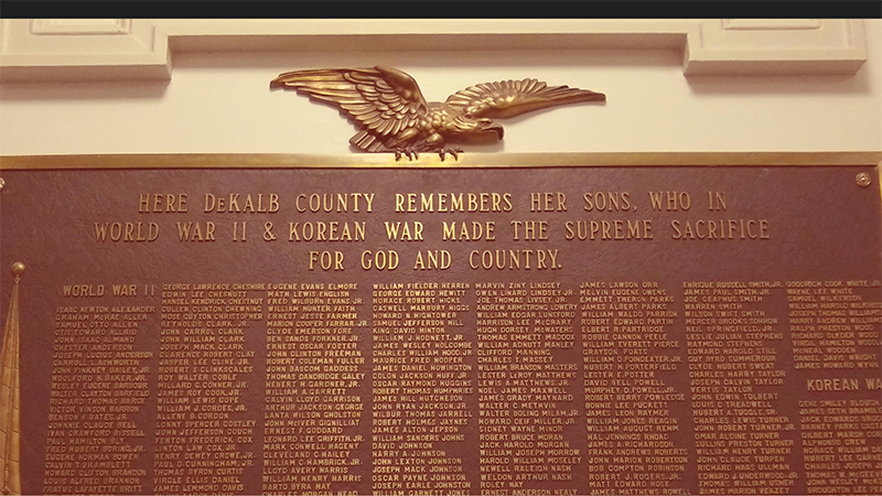 DHC Blog: DeKalb County War Memorial