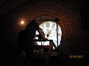 DHC Blog: Courthouse Clock from inside