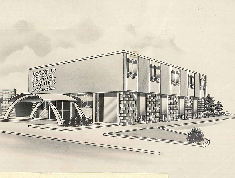 DHC Blog: A Bank With Pizazz / Decatur Federal Savings & Loan
