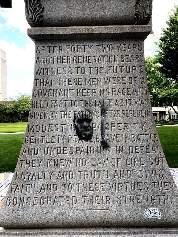 Decatur Confederate Monument Protest Images