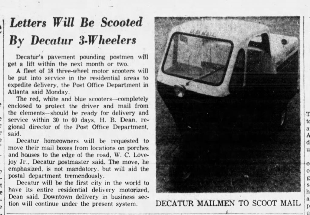 DHC Blog: Decatur uses Mailster service for mail